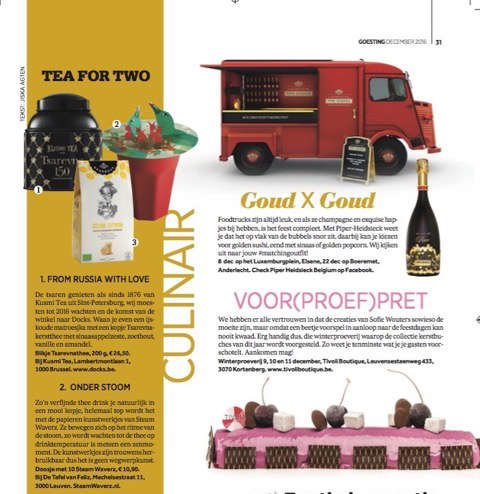 Belgium magazine Goesting 12-16