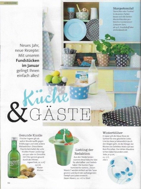 German Magazine: Living&More 01-2017