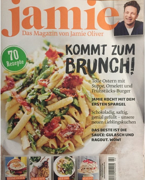 Jamie Oliver magazine Germany 03-2017