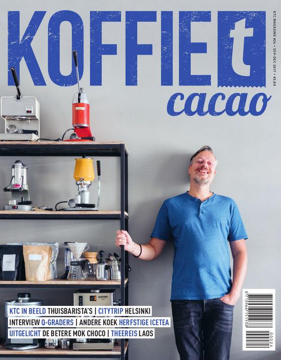 Dutch coffee tea magazine: KoffieTcacao 09-2017