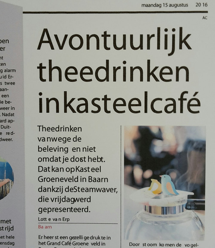 Local Dutch Newspaper AD Amersfoortse Courant