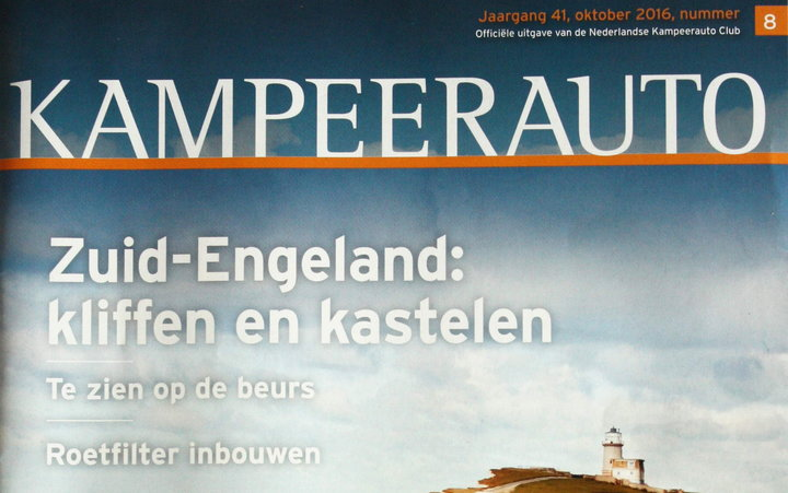 Dutch Magazine Kampeerauto