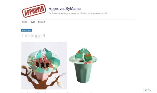 Approved by mama blog