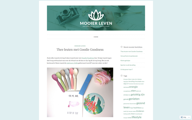 Blog Mooier Leven 02-2017