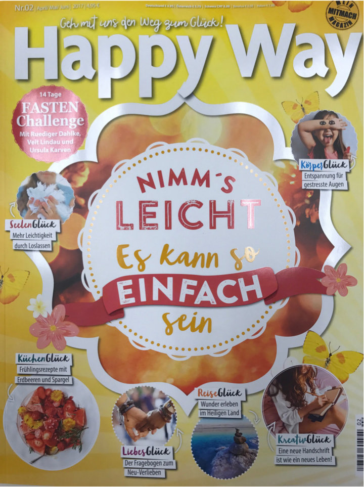 Happy Way German magazine 03-2017