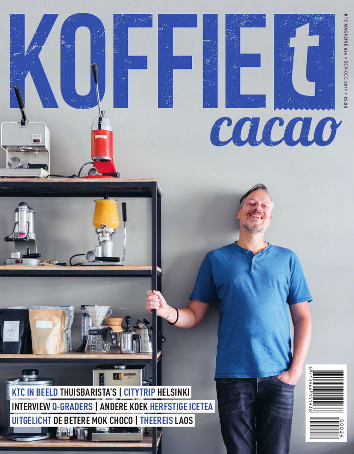 Dutch coffee tea magazine: KoffieTcacao 09-2017