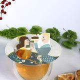 Steam Waverz teagift. High tea uitnodiging,Tea accessorie; Theegeschenk, theebedankje, huwelijksbedankje