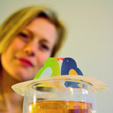 Tea Birds; BFF gift, Steam Waverz. Theeaccessoire. tea moments, high tea uitnodiging, theebedankje