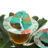 Steam-Waverz,Birds; Illustrated papergift for wonderful tea moments