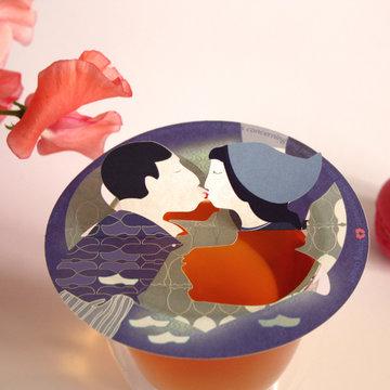 Giftbox DUTCH KISSING COUPLE